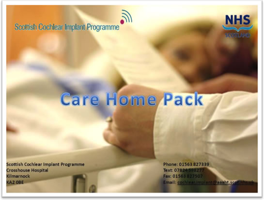 Care Home Pack